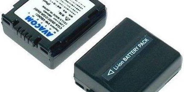 Akumulátor pro video/foto Avacom CGA-DU07/CGR-DU07/ VW-VBD07 (VIPA-DU07-532) černý