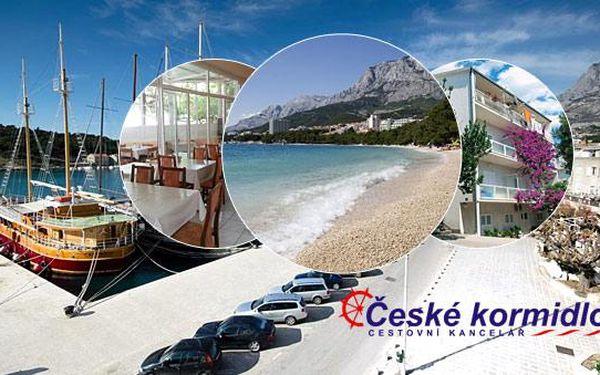 ★ 8–10denní Chorvatsko (Makarská) ★ Slevy na děti ★ Polopenze ★ Villa Grubišič*** ★ Autobus nebo vlastní ★ Oblíbená dovolená