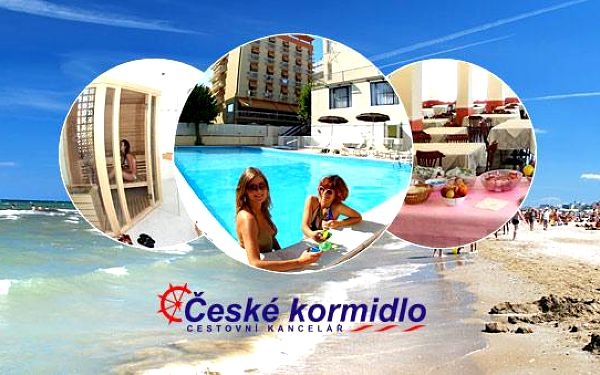 ★ 8–10denní Itálie (Emilia Romagna) ★ Dvě děti ZDARMA ★ Hotel Plaza*** ★ Plná penze ★ 50 m písečná pláž ★ Bazén ★ Autobus nebo vlastní