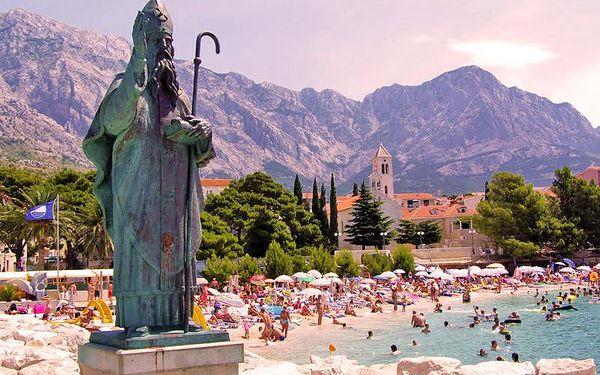Dovolená u moře v Chorvatsku na 8 dní v letovisku Baška Voda pro JEDNOHO