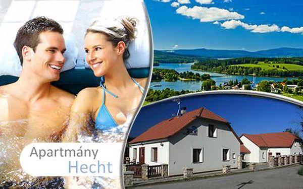 Zážitkový pobyt pro 2 osoby včetně slev na vstupy a ubytování v Apartmánu Hecht *** na břehu Lipna, do 30. 6. 2016