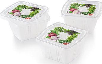 Set 3 krabiček na jídlo Fresh, 0,25 l