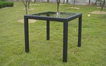Stůl Rojaplast ratan 80x80cm