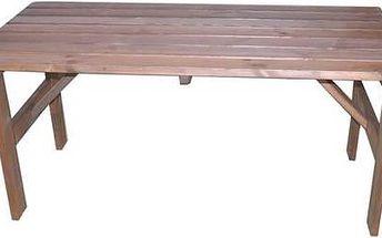 Stůl Rojaplast Miriam hnědý
