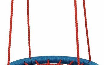 WOODY Houpací kruh (průměr 100cm) - červeno-modrý