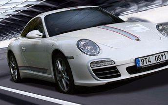 Jízda v nadupaném sporťáku Porsche Carrera 911