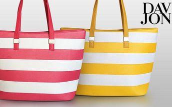 Pruhované dámské kabelky David Jones