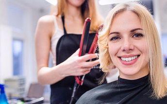 Kompletní střih či barva pro všechny délky vlasů
