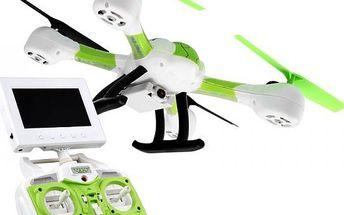 HAWK-EYE FPV - RC dron s online přenosem videa