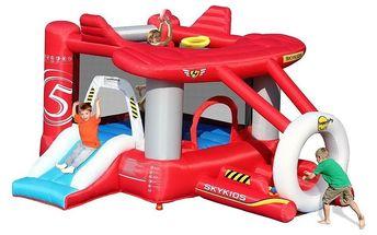 Skákací centrum Happy Hop Airplane, nafukovací atrakce