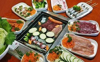 All you can eat pro dva – grilování a bufet