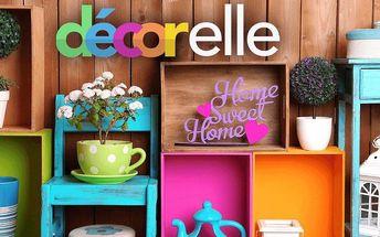 30% sleva na nákup dekorací pro váš domov