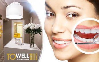 50min. bezbolestné neperoxidové bělení zubů včetně remineralizace zubní skloviny v Brně.