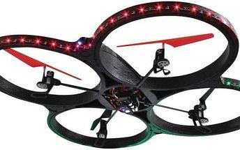 FlyScout - obrovský dron s kamerou a kompasem a LED , 72cm