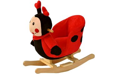 Oblíbené dětské houpací křeslo BabyGO beruška