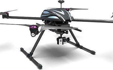 Walkera X800 FPV, DEVO F12E, gimbal, iLook+, AL CASE