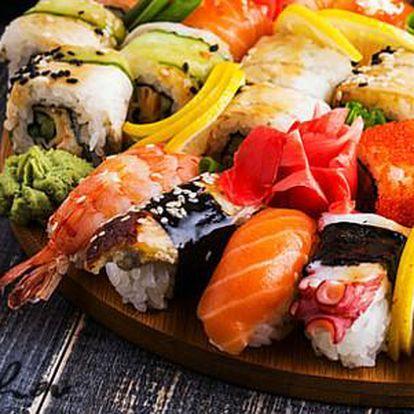 26% sleva na running sushi v restauraci Jiu Zhou