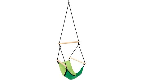 Amazonas Dětské závěsné houpací křeslo - Swinger zelené