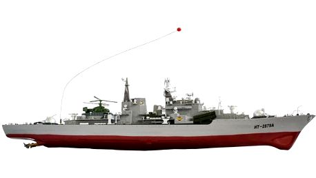 RC bitevní loď na DO