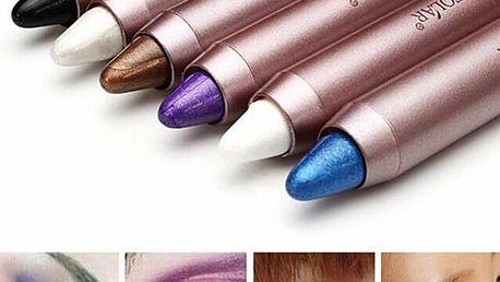 Oční stíny v tužce - různé barvy - poštovné zdarma