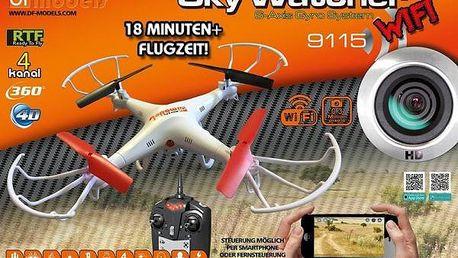 Sky Watcher 3 - 18min. letu - FPV WiFi přenos videa