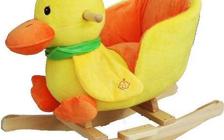 Oblíbené dětské houpací křeslo BabyGO kačenka