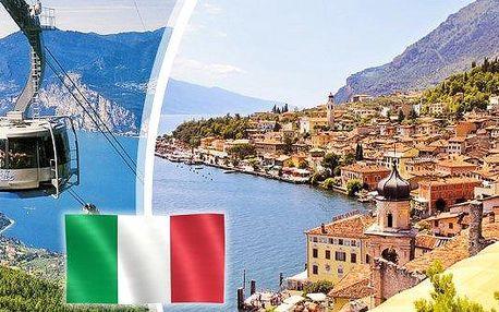Itálie - 3 denní zájezd pro 1 osobu k jezeru Lago di Garda i do romantického města Romea a Julie - Verony.Relaxujte na pobřeží jezera Lago di Garda, navštivte historické město milenců Romea a Julie a užijte si neopakovatelnou atmosféru opery ve Veronské