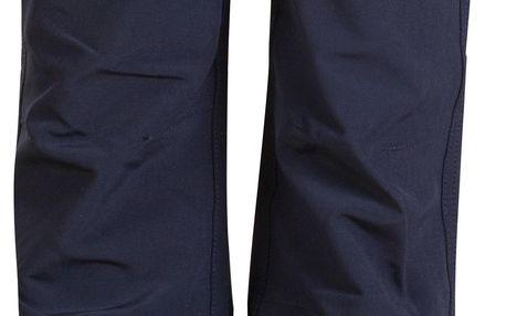 ALPINE PRO Dětské softshellové kalhoty Vemo - černé, 152-158 cm