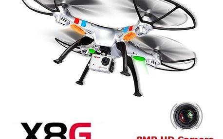 SYMA X8CG - 8Mpix Full-HD kamera - dlouhá doba letu