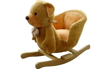 Oblíbené dětské houpací křeslo BabyGO méďa