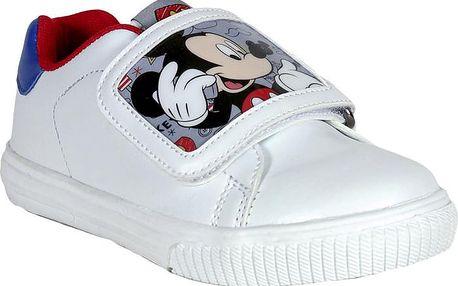 Disney Brand Dětské tenisky Mickey Mouse - bílé