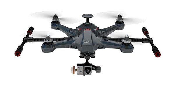 Walkera SCOUT X4 GOPRO, RTF (DEVO F12E, G-3D gimbal, ground station)