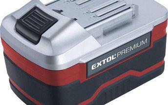 Extol Premium (8891220B) baterie akumulátorová 18V, Li-ion, 3000mAh