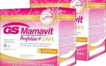 GREEN SWAN Mamavit Prefolin Duopack + DHA 30 tablet + 30 kapslí