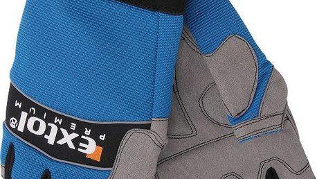 "Extol Premium (8856609) rukavice pracovní polstrované bezprsté, XXL/12"""