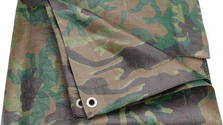 Extol Craft (16109) plachta maskovací PE nepromokavá 100g/m2, 8x12m