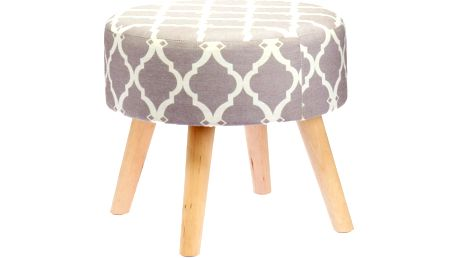 Stolička Grey Geometric