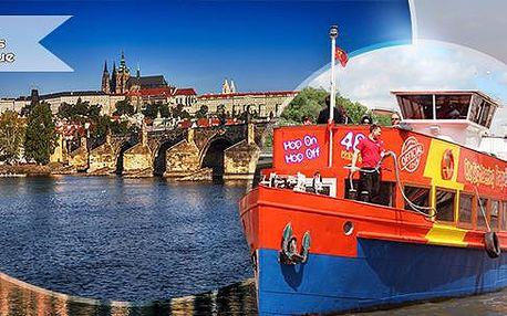 Hodinová plavba lodí po Vltavě pro 1 osobu! Karlův most, Pražský hrad a další + varianta s kávou a zákuskem!