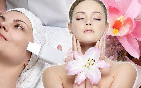 Ultrazvukové čištění pleti se zklidňující maskou a masáží obličeje! Bezbolestné, neagresivní a přitom velmi účinné ošetření, které vyčistí až 80% pórů. Navíc s okamžitými výsledky a bez podráždění. Již ze salonu tedy odcházíte se svěží, mladou a zdravě vy