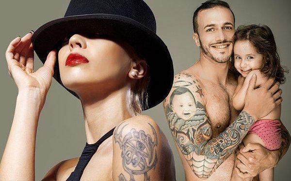 Tetování ve velikosti do 9x9 cm v pražském studiu Aries Tattoo