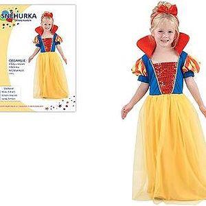 Šaty na karneval - Sněhurka vel. XS
