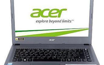 Acer Aspire E14 Charcoal Gray