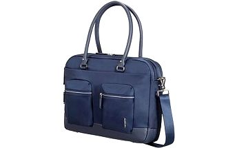 "Samsonite Move Pro Bailhandle 15.6"" Dark Blue"