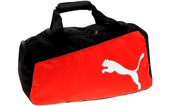 Puma Pro Training Medium Bag black-puma red-w