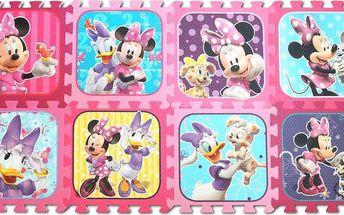 Trefl Pěnové Puzzle Minnie /Disney, Růžová