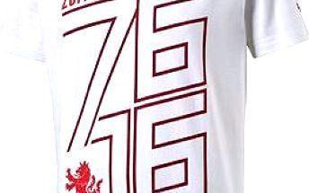Puma Czech republic 76 Fan Shirt white chili M