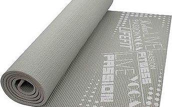 Gymnastická podložka Lifefit Slimfit - světle šedá