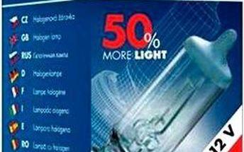 TESLA Žárovka H7, 12V, 55 W, PX 26 d + 50%