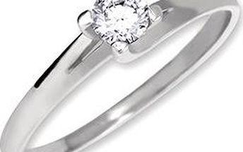 Zásnubní prsten Gossi 2230010009007_55 (585/1000; 1,60 g) vel. 55