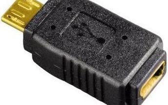 Hama - USB mini 5pin (F) na micro B (M)